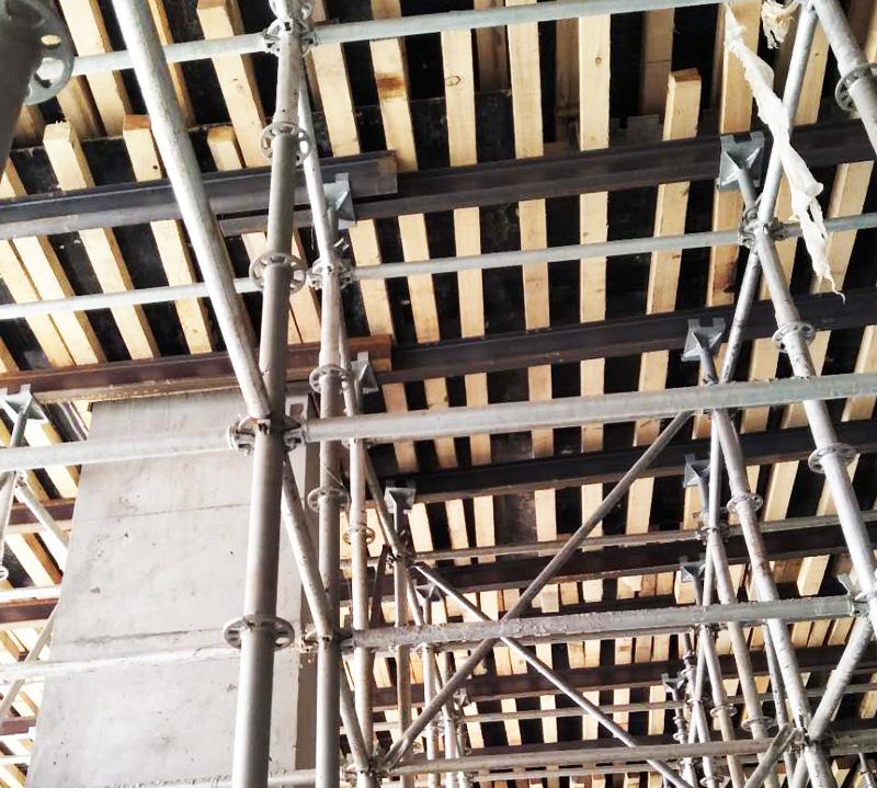 建筑施工盘扣脚手架