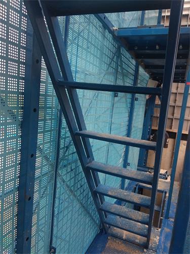 施工平台爬梯